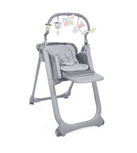 CHICCO CHAISE HAUTE BÉBÉ POLLY MAGIC RELAX - GRAPHITE