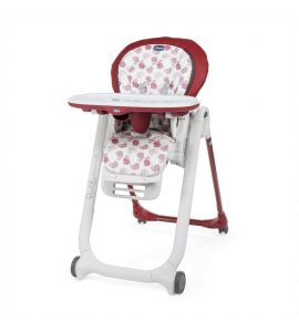 Chicco Chaise Haute bébé Polly Progres5 - Red