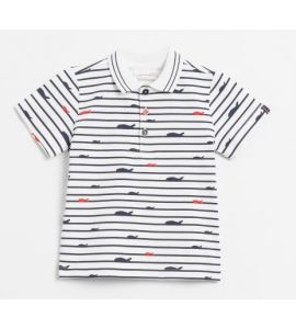 T-shirt Polo manches courtes Ahoy Sailor Multicolore